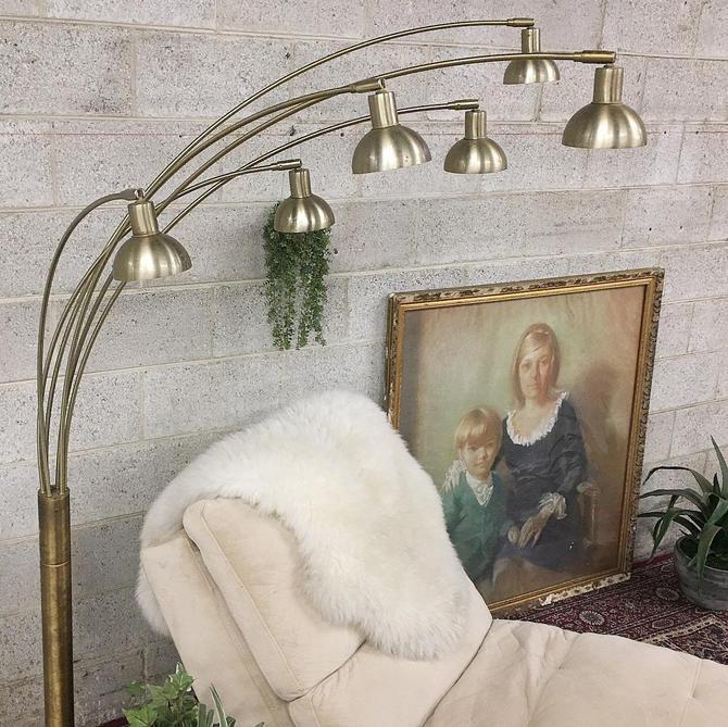 LOCAL PICKUP ONLY ————- Vintage Floor Lamp by RetrospectVintage215