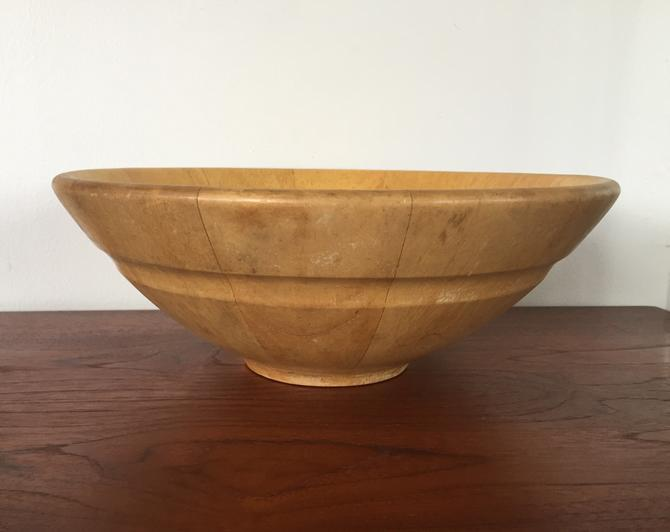 Vintage Dansk Blond Wood Salad Bowl By Modandozzie From Mod And
