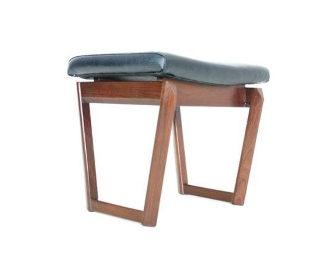 Mid Century Vanity stool Danish.. by SputnikFurnitureLLC