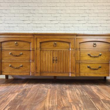 Item #166 Extra large Customizable Midcentury Neoclassical sideboard by RenoVista