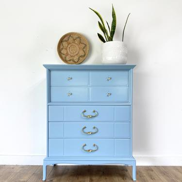 AVAILABLE - French Blue Chest of Drawers by JulieSimpleRedesign