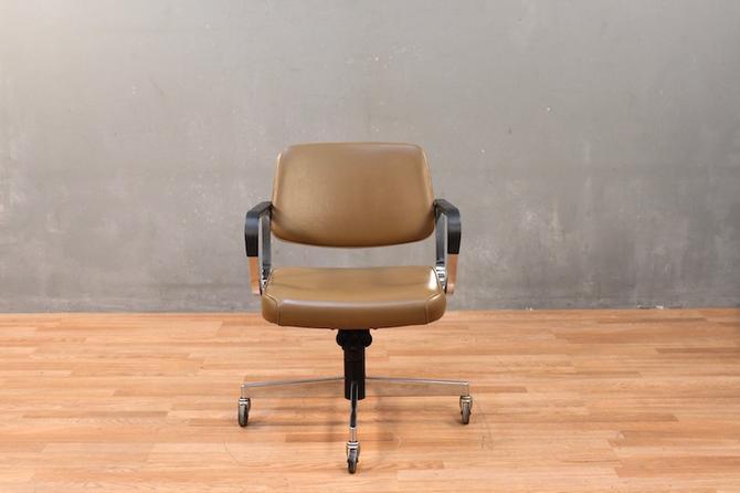 Harter 1970s Rolling Desk Chair