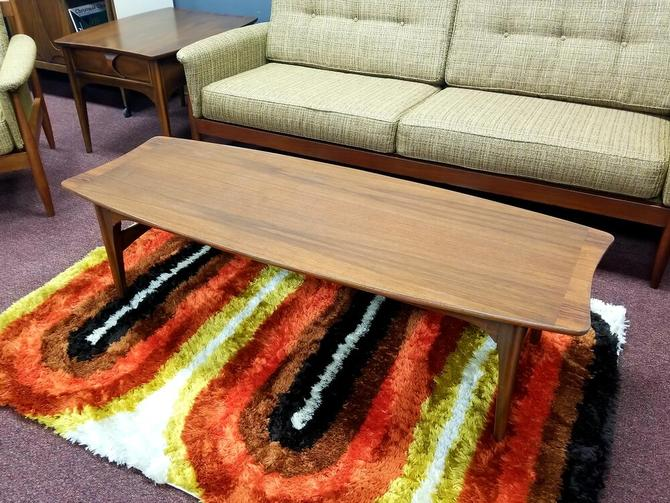 Mid-Century Modern coffee table from the Perspecta collection by Kent Koffey