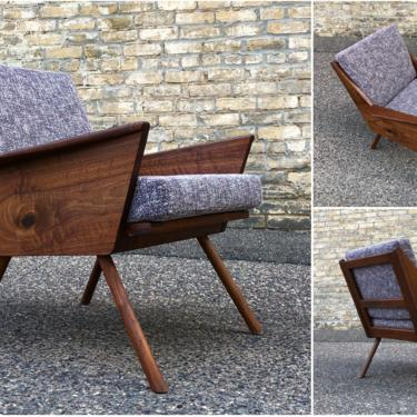 Made In Minnesota Walnut Chair