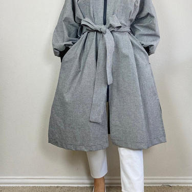 Black check french coat by shopjoolee
