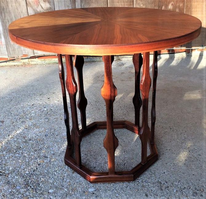 Rare Mid Century Foster Mcdavid Octagon Bottom End Table Night Stand From 20th Century Restored Of Alexandria Va Attic