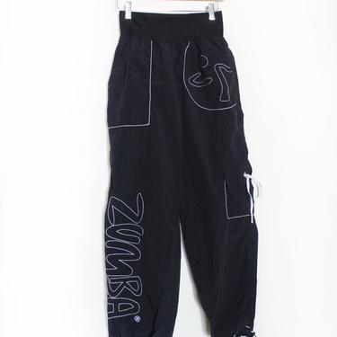 Black Zumba 90s Dance Pants by LooseGoods
