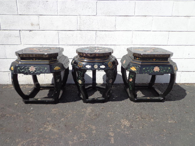 Swell 3 Stools Asian Inspired Chinese Lacquer Benches Seating Pdpeps Interior Chair Design Pdpepsorg