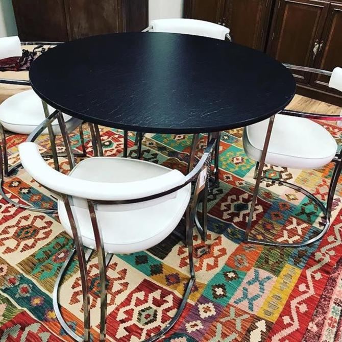 Mid Century Modern dinette set by Antarenni Industries. $500