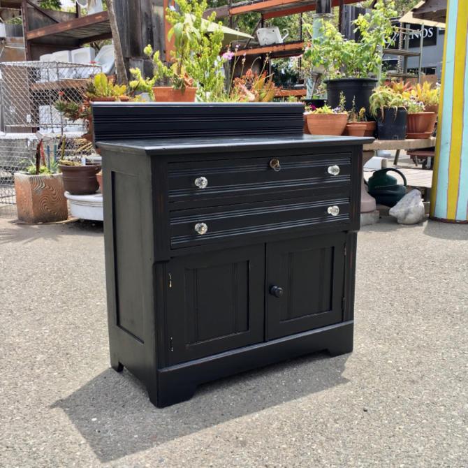 Small Painted Eastlake Dresser