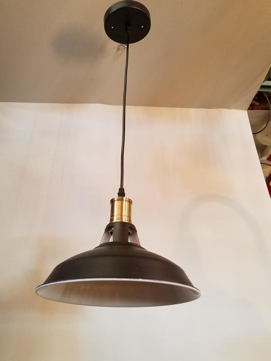 Brass and Steel Pendant