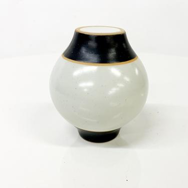 Modernist Pottery Salt Shaker Clean Modern Design by AMBIANIC