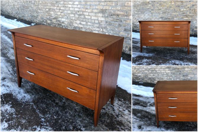 Drexel 'profile' Dresser Designed By John Von Koert
