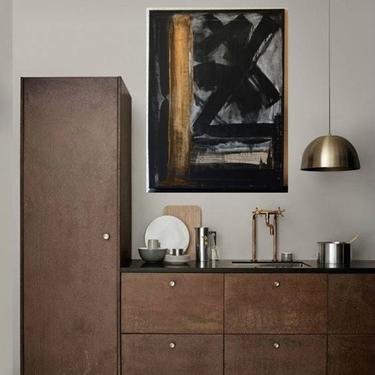 FOR INGRID ONLY --Custom Order-Black, Metallic Gold, Grey Canvas Painting Abstract Minimalist Art Modern Artwork Original Art by Dina by ArtbyDinaD