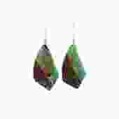 Boulder Chrysoprase Earrings