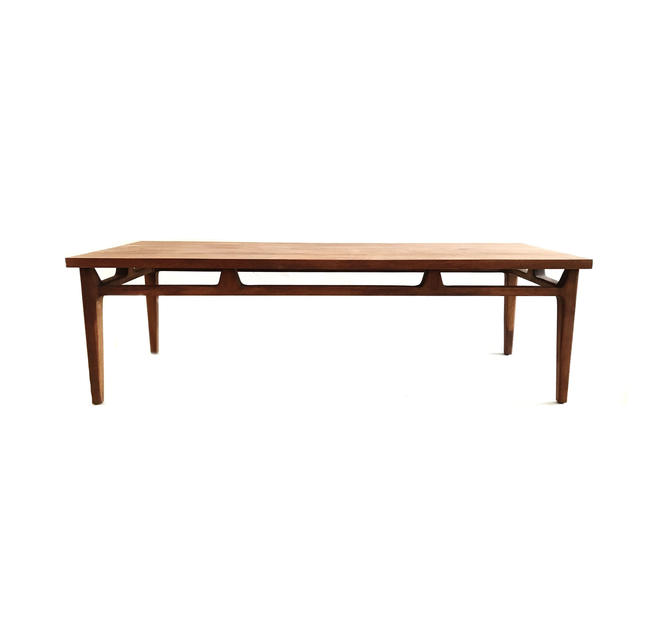 Vintage Mid Century Coffee Table In Wood by minthome