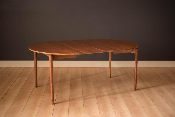 Mid-Century Modern Walnut Dining Table by Greta Grossman for Glenn of California by MidcenturyMaddist