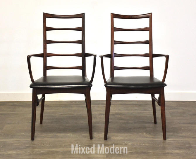 Rosewood Dining Chairs by Koefoeds Hornslet - A Pair by mixedmodern1
