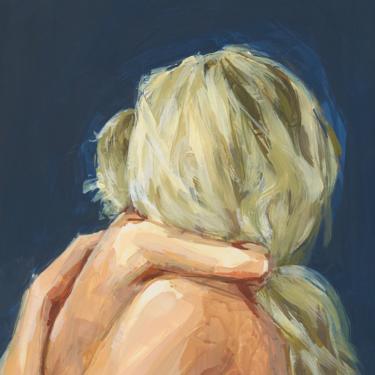 OVERSTOCK SALE . Little Love . giclee art print by ClareElsaesser