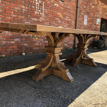 French Farmhouse Modern Dining Table by HickoryandHaze