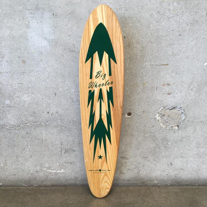 Vintage Big Wheeler Skateboard