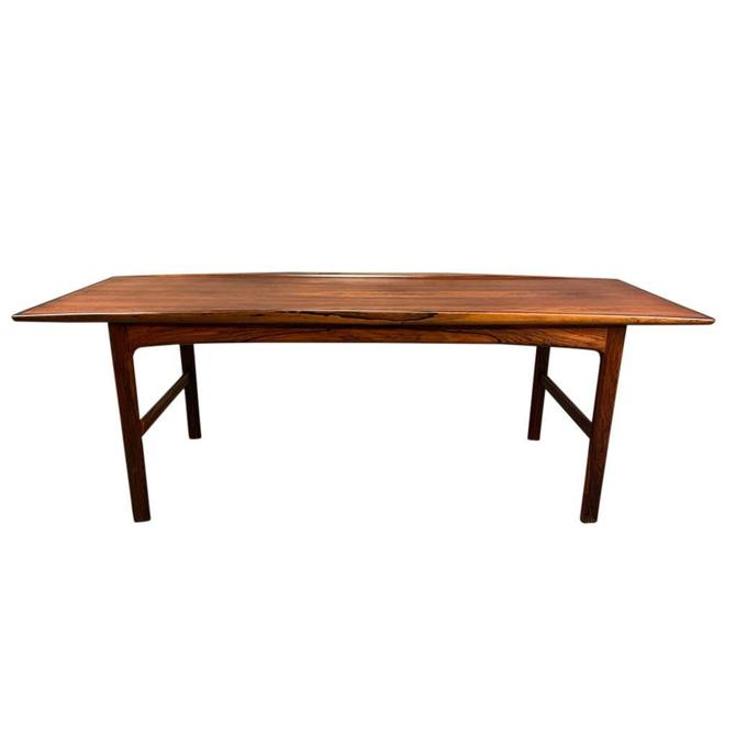 "Vintage Danish Mid Century Modern Rosewood ""Frisco"" Coffee Table by Folke Ohlsson by AymerickModern"