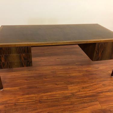 Stow Davis Mid Century Executive Desk by Vintagefurnitureetc