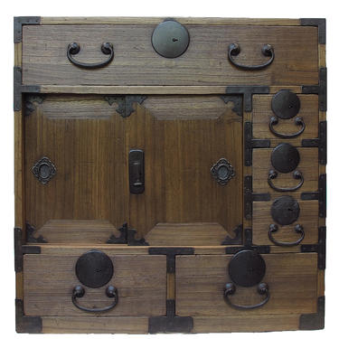 16D3 Choba Tansu w/Secret Box