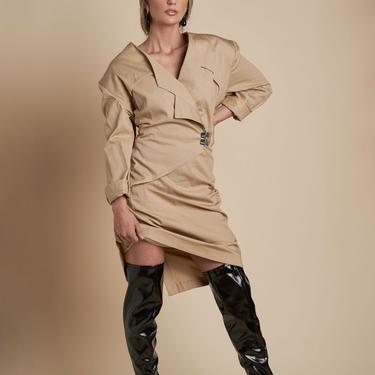 Trench Wrap Dress
