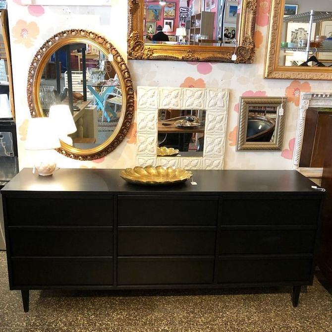 Black MCM Triple Dresser $595