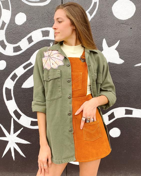 FO24 Butterfly Patched Fatigue Jacket