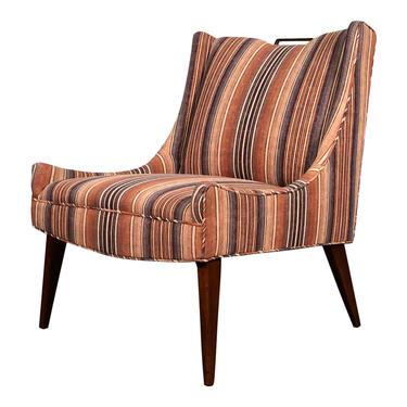 Mid-Century Modern Slipper / Lounge Chair by modernmidcenturyfurn