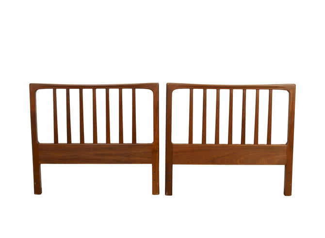 Folke Ohlsson for Dux Teak Headboards Twin Size Made in Sweden by HearthsideHome