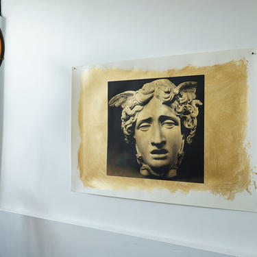 Medusa (Gold Version) on Heavy Drawing Paper signed
