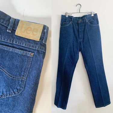 "Vintage 1980s Lee Jeans / 32"" by MsTips"
