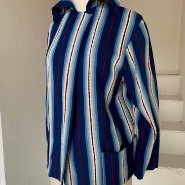 1950s Rare Cannady Creations of Hollywood  Flannel Southwestern Jacket 36 Bust Medium Vintage by AmalgamatedShop