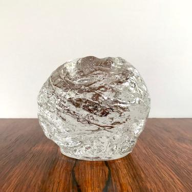 """Large Vintage Kosta Boda Snowball Votive Candle Holder (4 1/4"""") by Ann Warff by TheThriftyScout"""