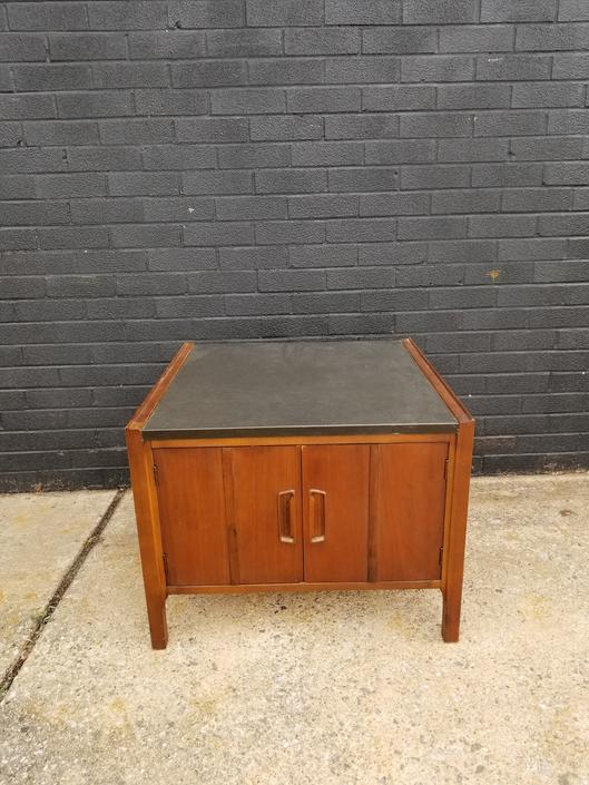 Mid Century Laminate Top end table