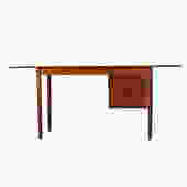Teak Expanding Arne Vodder Desk w/ Adjustable Drawers