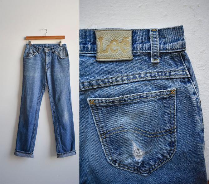 Vintage Lee Jeans 30x32 by milkandice
