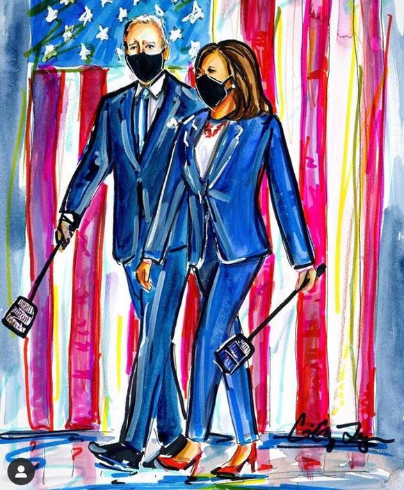 Swat Team 2020 Political Art by Cris Clapp Logan by CrisLoganArt