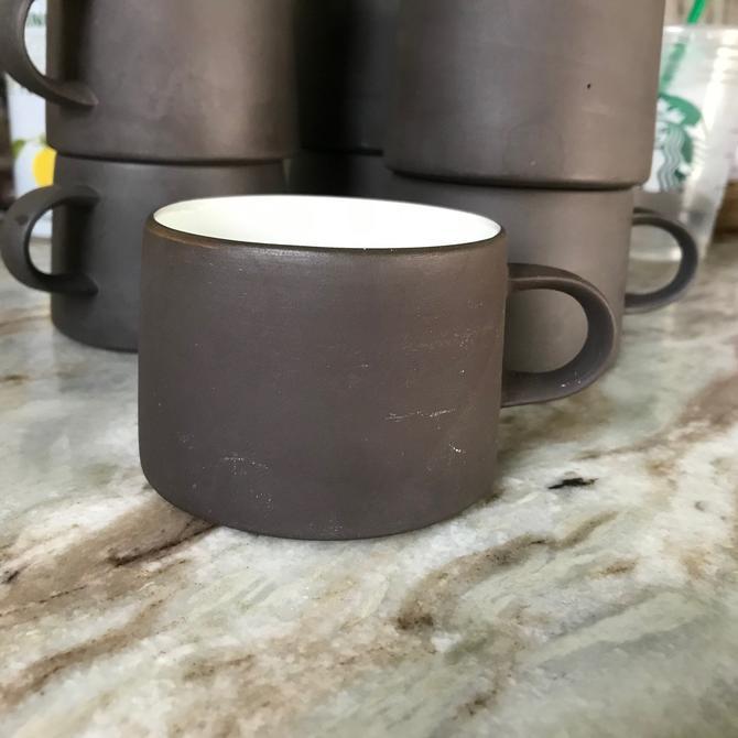 1 Vintage Dansk Flamestone Coffee Mug Cup Danish Jens Quistgaard Uncommon Design by BrainWashington