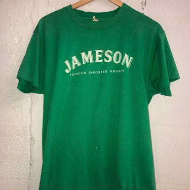 Vintage 80's Jameson Whiskey T-Shirt. Super Soft! XL 3074 by TCWOnline