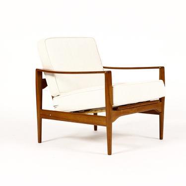 Danish Modern / Mid Century Teak EK Lounge Chair –Illum Wikkelsø for Niels Eilersen by atomicthreshold