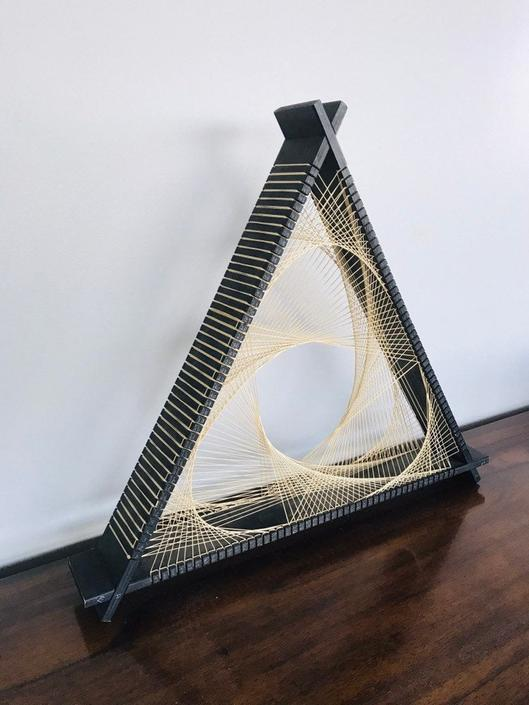 Triangular Shape Symmography Wall Art by UrbanInteriorsBalt