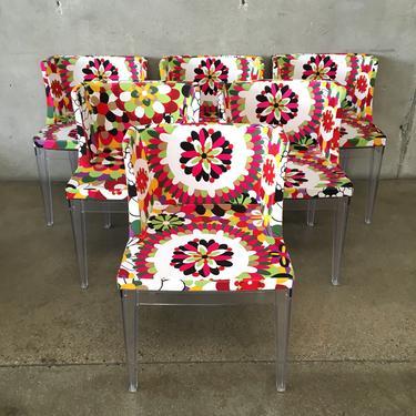 Phillipe Starck Style Mademoiselle Chairs - set of 6