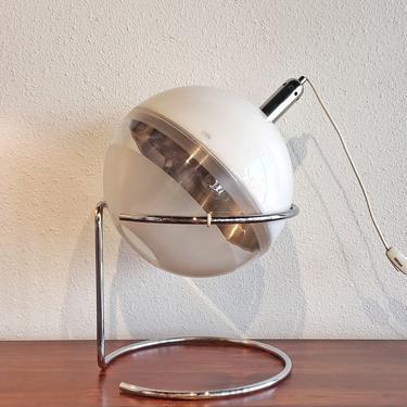 FABIO LENCI 'FOCUS' TABLE LAMP FOR HARVEY GUZZINI (RARE)