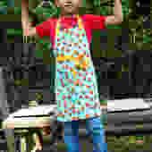 Rachel 50 Polka Dot Child Apron