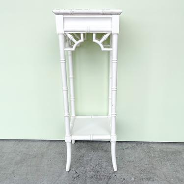 Faux Bamboo Plant Stand