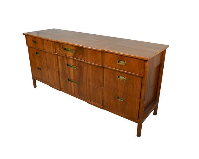 Walnut Long Dresser or Credenza John Widdicomb Mid Century Modern by HearthsideHome